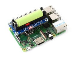 【莓亞科技】樹莓派鋰電池擴充模組(5V穩壓輸出, 雙向快充, 含稅現貨NT$588)
