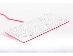 【莓亞科技】樹莓派官方鍵盤(美式, USB, 紅白, 含稅現貨NT$658)