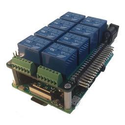 【莓亞科技】樹莓派 Raspberry Pi 8組繼電器擴充板(Mega-IO, 含稅現貨NT$1388)