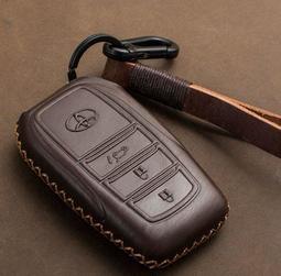 TOYOTA豐田新RAV4漢蘭達凱美瑞Camry汽車鑰匙包真皮普拉多皇冠CROWN 鑰匙皮套 鑰匙包 鑰匙扣