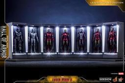 『小冷蝸牛』全新未拆 Hot Toys IRON MAN Hall of Armor 鋼鐵人裝甲格納庫