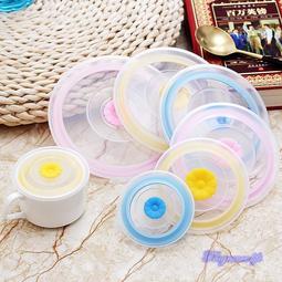 食品級矽膠保鮮蓋 碗蓋 杯蓋 矽膠杯蓋 微波用密封蓋 密封蓋