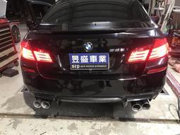 昱盛車業 BMW F30 F20 X5 F10 G30 E30 F33 電子閥門 手作白鐵桶身 尾飾管 手工排氣管