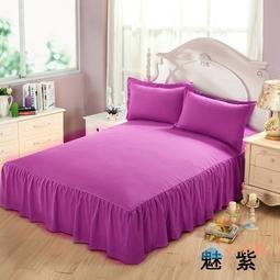 床罩床罩床裙單件床裙式席夢思床套保護套防塵罩防滑2.0m床1.5床1.8米【小還真】