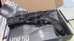 【阿爾斯工坊】現貨~免運 剛剛好選購/單槍驚喜價 動力 版 UMAREX 左輪 轉輪 HDR 50 防身 CO2 鎮暴槍