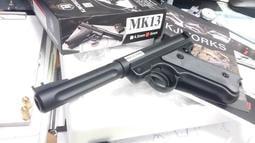 【阿爾斯工坊】KJ MK2瓦斯版 ~MK1 3~  6mm 瓦斯手槍 (金屬版)KJGSMK13