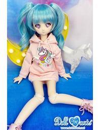 Doll Heart MD000406 夢幻獨角獸 長版帽T [MSD/MDD]