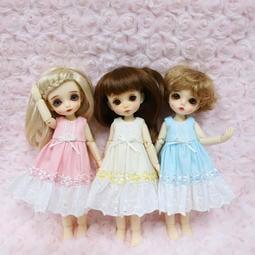 +薔薇騎士團+  八分娃用 小花洋裝  [1/8BJD ] 三色