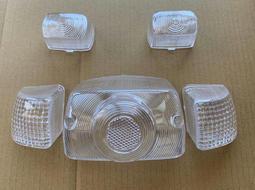 [愛將精品]達可達50零件 透明方向燈殼、後燈殼套組